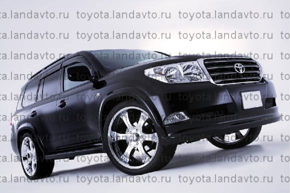 Plastikovii obves Elford Toyota Land Cruiser 200 Дефлекторы
