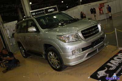 aerodinamicheskiy obves toyota land cruiser 200 Дефлекторы