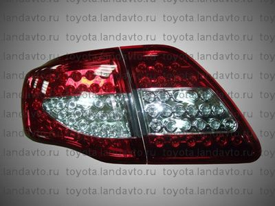 alternativnaia optika zadnaia svetodiodnaia optika toyota corolla. Corolla