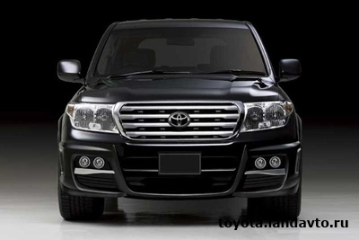 bamper perednii WALD SPORTS LINE Black Bison Editione Toyota Land Cruiser 200 Дефлекторы