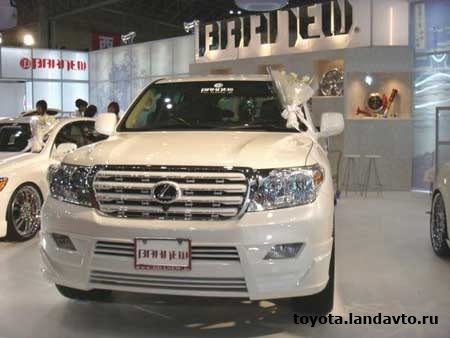 obves toyota land cruiser 200 Дефлекторы