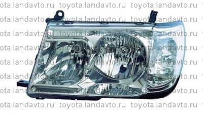 optika perednia toyota land cruiser 100 Дефлекторы